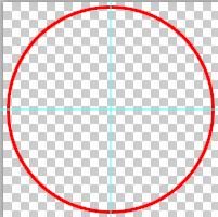 Đường tròn đỏ lớn